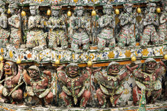 Thai religious sculpture Royalty Free Stock Photos