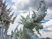 Thai religious sculpture Royalty Free Stock Photo