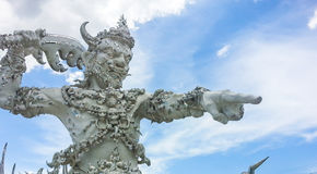 Thai religious sculpture Royalty Free Stock Photography