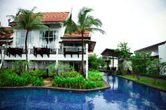 Thai resort. stock photos
