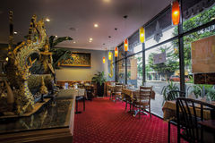 thai restaurang Arkivbilder