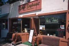 Thai Restaurant, Carpinteria, California Royalty Free Stock Photo