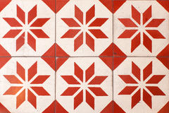 Thai retro floor tiles Stock Photos