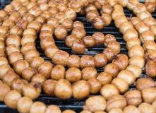 Thai rice ball sausage Stock Image