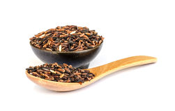 Thai rice berry seed. Royalty Free Stock Photo
