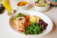 Thai rice bio food Stock Photo
