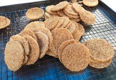Thai Rice Cracker stock photo