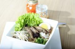 Thai rice noodle Royalty Free Stock Photo