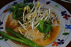 Thai rice noodle Royalty Free Stock Image