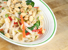 Thai Rice Noodle Salad Stock Image