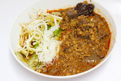 Thai rice noodles Stock Images