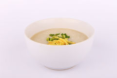 Thai rice porridge with pork, rice gruel. Congee is a type of rice porridge or gruel popular in many Asian countries. When eaten as plain rice congee, it is Stock Photo
