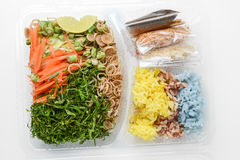 Thai rice salad Stock Photography