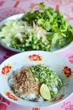 Thai rice salad Stock Photo