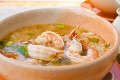 THAI RICE SOUP Stock Images