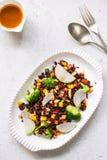 Thai Riceberry with broccoli salad Stock Photos