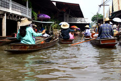 Thai river canals Stock Photo