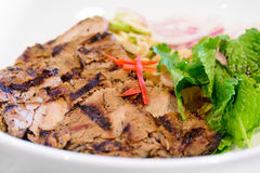 Thai roast beef Royalty Free Stock Images