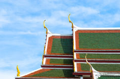 Thai roof Royalty Free Stock Images