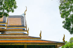 Thai roof palace, Sanam Chan Palace, Nakhon pathom, Thailand Stock Photography