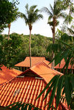 Thai roofs Stock Images