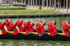Thai Royal Barge Stock Photography
