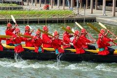Thai Royal Barge Royalty Free Stock Image