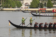 Thai Royal barge in Bangkok Stock Images