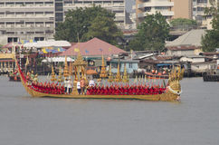 Thai Royal barge in Bangkok Stock Image