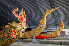 Thai Royal Barge Open Museum Stock Images