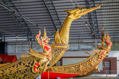 Thai Royal Barge Open Museum Royalty Free Stock Photos