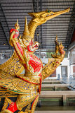 Thai Royal Barge Open Museum Royalty Free Stock Photo