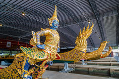 Thai Royal Barge Open Museum Royalty Free Stock Images