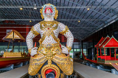 Thai Royal Barge Open Museum Stock Photo