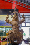 Thai Royal Barge Open Museum Royalty Free Stock Photography