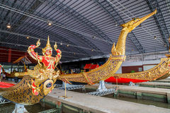 Thai Royal Barge Open Museum Stock Image