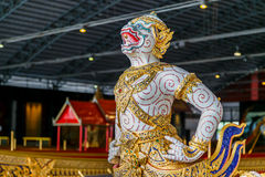 Thai Royal Barge Open Museum Royalty Free Stock Image