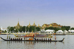 Thai Royal Barge Parade Royalty Free Stock Photography