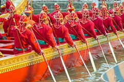 Thai royal barge Stock Image