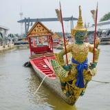 Thai royal barge. Supreme art of Thailand Stock Image
