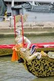 Thai royal barge. Supreme art of Thailand Stock Photos