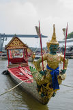 Thai royal barge Royalty Free Stock Photo