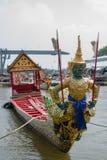 Thai royal barge. Supreme art of Thailand Royalty Free Stock Photo