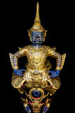 Thai royal barge, supreme art Stock Images