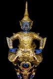 Thai royal barge, supreme art. Of Thailand Stock Images