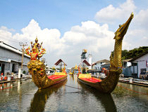 Thai royal barge,Thailand. Royalty Free Stock Photography