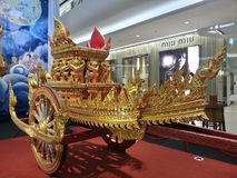 Thai royal chariot Stock Photos