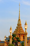 Thai royal cremation ceremony. In Bangkok Stock Image