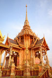 Thai royal crematorium. Exquisite Thai royal crematorium in Bangkok Royalty Free Stock Photos