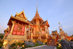 Thai royal crematorium. Exquisite Thai royal crematorium in Bangkok Stock Photos